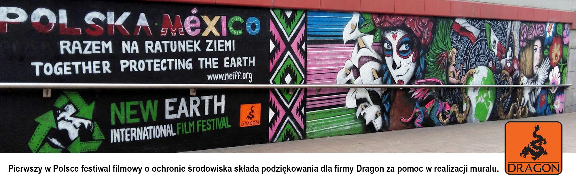 Produkty Dragon Poland użyte do upiększenia krajobrazu miasta Krakowa