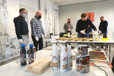 Szkolenie dla Przedstawicieli Handlowych z zastosowania Lakierobejcy i Bejcy BIO