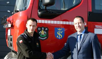 Zakup wozu strażackiego dla OSP Kopanka